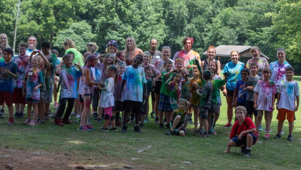 Color War Day at Camp