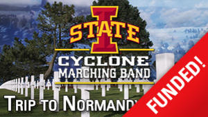 Marching Band D-Day Memorial Trip