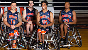 Help the Wheelchair Basketball Team Stay Strong