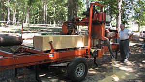 Portable Sawmill Provides New Opportunities