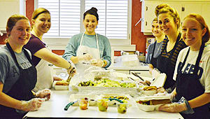 Campus Kitchens Feeds the Hungry