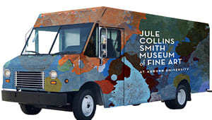 Get the Jule Collins Smith Museum in Motion