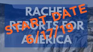 Rachel Reports for America