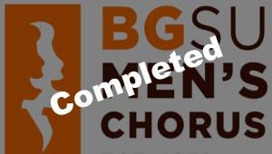 BGSU Men's Chorus Spring Tour