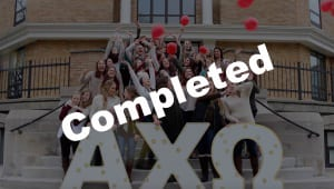 Greek Village Series: Alpha Chi Omega