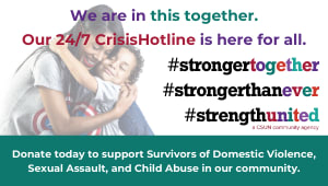 Support Survivors: StrengthUnited 24/7 Crisis Hotline