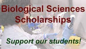 Biological Sciences Scholarships