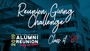 Tepper School Class of 1984 Reunion Challenge