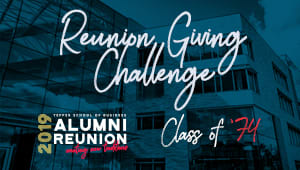 Tepper School Class of 1974 Reunion Challenge