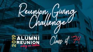 Tepper School Class of 1974 Reunion Challenge