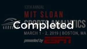 2019 MIT Sloan Conference