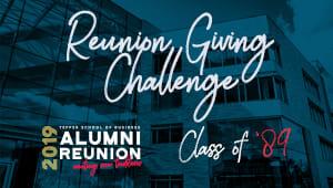 Tepper School Class of 1989 Reunion Challenge