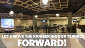 Pioneer Indoor Terrace Updates
