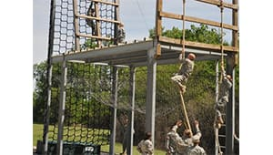ROTC Obstacle and Physical Fitness Course