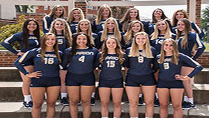 2017-18 Clarion University Womens Volleyball