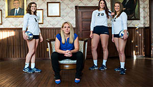 2016-17 Clarion University Volleyball