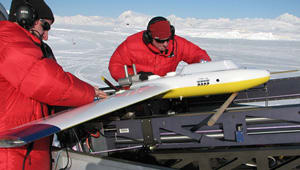 Tracking Sea Ice Change with Drones