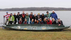 Cornell Concrete Canoe