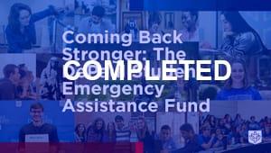 Student Emergency Assistance Fund Challenge