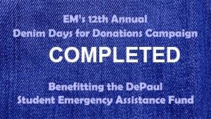 EM Denim Days for Donations