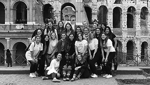 Duquesne in Rome