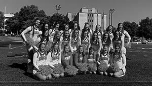 Go Dukes! Support Duquesne University Cheerleaders!