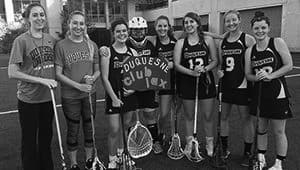 Duquesne University Women's Club Lacrosse 2017