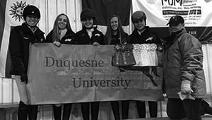 Duquesne University Equestrian Team 2018