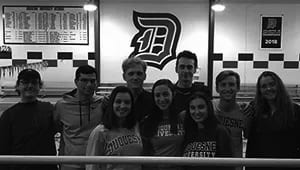 Duquesne University Club Swim Team 2019
