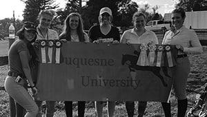 Duquesne University Equestrian Team 2019