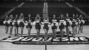 Duquesne University Dance Team 2018