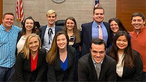 Undergraduate Mock Trial Team 2020