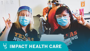 Support nursing students' education and frontline care