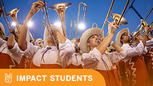 Keep the Longhorn Band marching on