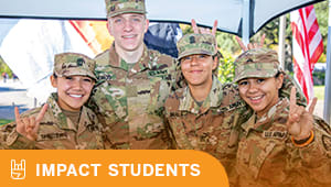Serve the student veterans who served us