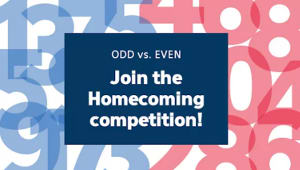 Homecoming Giving Competition: ODD Class Years