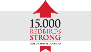 15,000 Redbirds Strong