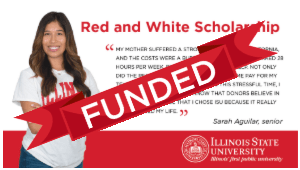 Giving Tuesday Red and White Scholarship