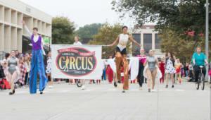 Gamma Phi Circus Macy's Parade