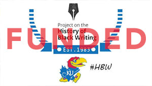 Support the Project on the History of Black Writing (HBW)