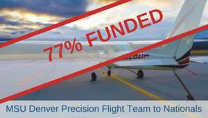 MSU Denver Precision Flight Team Goes To Nationals