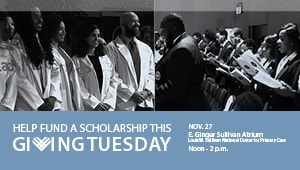 Morehouse School of Medicine Giving Tuesday 2018
