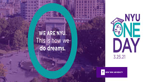 NYUAA Supporting Student Scholarships on NYU One Day!