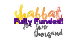 Shabbat for 2000 2017