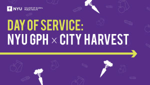 Day of Service: NYU GPH X City Harvest