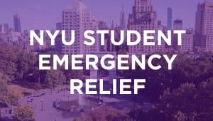 NYU Student Emergency Relief