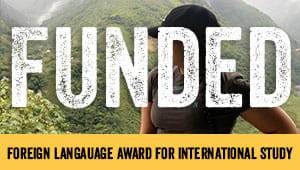 Foreign Language Award for International Study