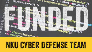 Funding the NKU Cyber Defense Team