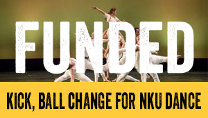 Kick, Ball Change for NKU Dance