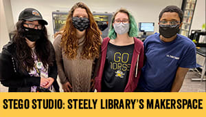 Stego Studio: Steely Library's Makerspace